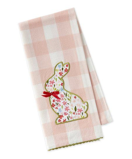 Brighten Up Your Kitchen With This Dish Towel Designed With Durable Absorbent Cotton And A Charming Bunny Inspired D Bunny Dishes Towels Design Design Imports