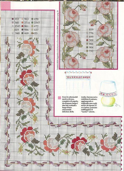 68 Cross Stitch Tablecloth Idea Cross Stitch Cross Stitch Borders Cross Stitch Embroidery