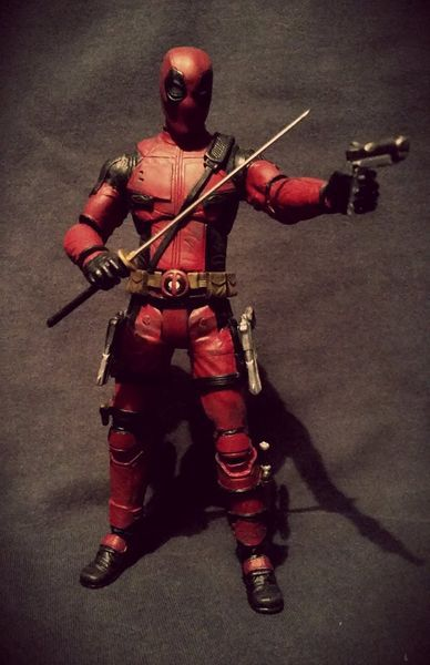 Marvel Select Deadpool Movie Deadpool 7 Inch Figure Deadpool Custom Action Figure Custom Action Figures Deadpool Movie Marvel