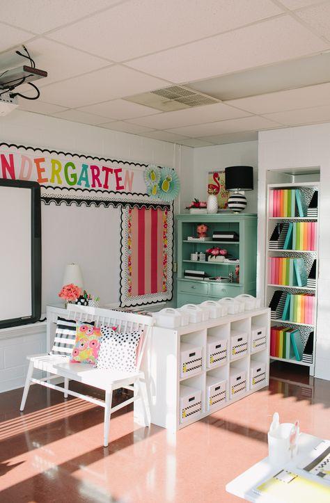 Kindergarten Classroom Setup, Modern Classroom, Classroom Decor Themes, Classroom Design, Classroom Organization, Classroom Management, Creative Classroom Ideas, Space Classroom, Future Classroom