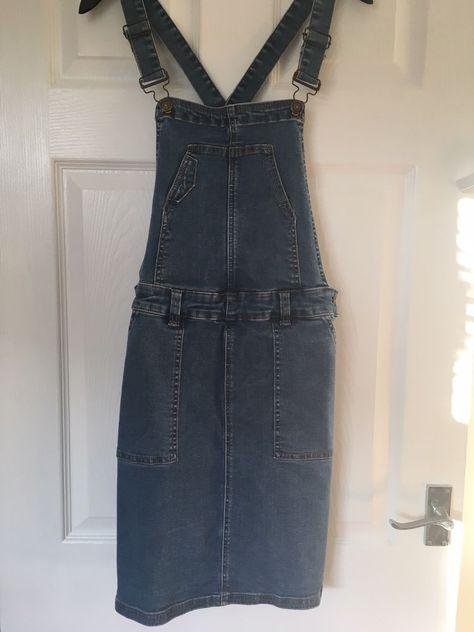 ece654dd50  DenimDress TU Clothing Blue Denim Pinafore Pinny Dungaree Dress Size 12 - Denim  Dress  6.32 (0 Bids) End Date  Saturday Dec-29-2018 12 45 02 PST Bid now ...