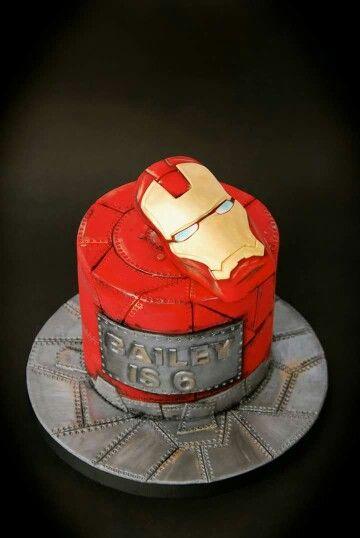Cool Iron Man Cakes marvel Pinterest Iron man cakes Man