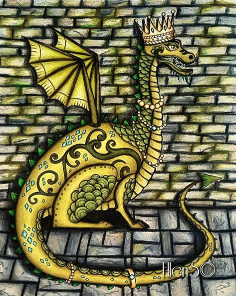 posca My Dragon Queen in the dungeon...