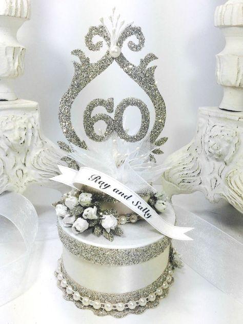 10 Ideas De 60 Aniversario Bizcocho Aniversario Bodas De Diamante Aniversario De Bodas