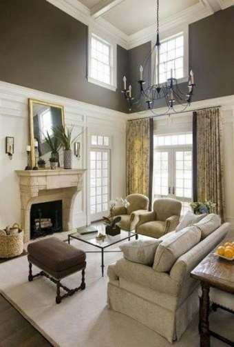Painting Ideas For Walls Livingroom High Ceilings 22 Best Ideas