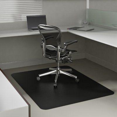 Deflect O Economat Low Pile Carpet Straight Edge Chair Mat