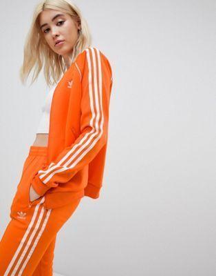 Veste de survêtement trois bandes adidas Originals à l ...