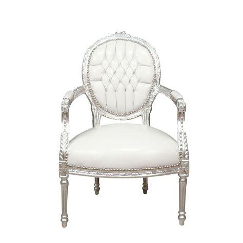 Fauteuil Baroque Blanc Style Louis Xvi Meubles Louis Xvi Fauteuil Baroque Meuble Louis Xv Et Mobilier De Salon