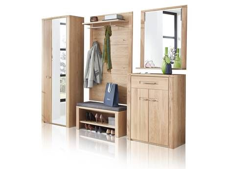 New York Garderobe Flur Garderoben Set Home24