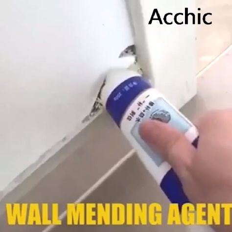 😍Everything you need for wall mending— Wall Mending Agent Shop Now>>$18.69