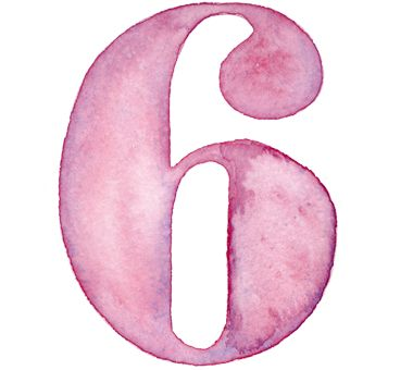 Watercolor Numbers By Giuseppe Salerno Via Behance Letters