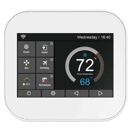 The 10 Best Smart Thermostats For Temperature Reviews April 2019 Smart Thermostats Thermostat Home Security Systems
