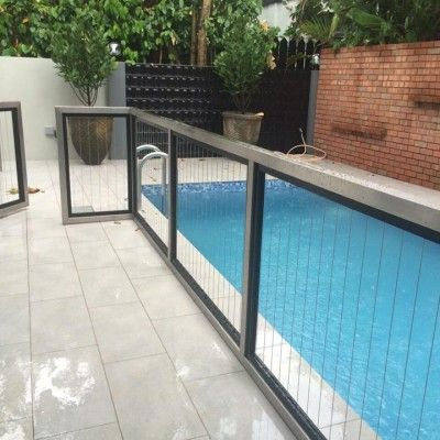 Invisible Grilles Invisys Invisible Grille Singapore Pool Fence Pool Florida Pool
