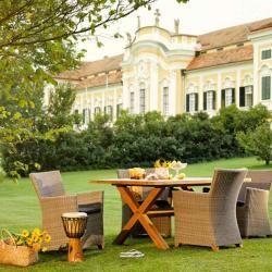 Diamond Garden Boulogne Gartentisch 240x100 Cm Teak Recycelt Natur