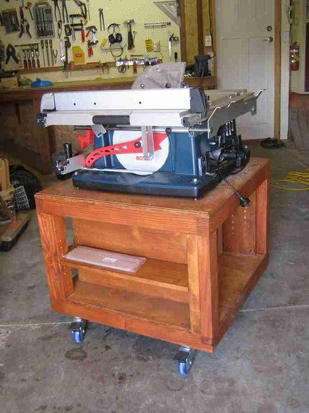 Stand For Bosch Gts 10 Xc Eq 4100 Table Saw Table Saw Bosch Table Saw Stand