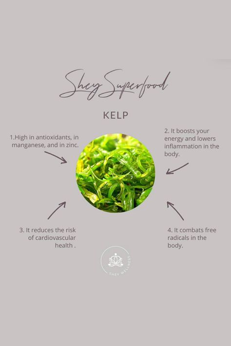 Here are a few of the many health benefits of kelp, so be sure to add this green to your diet! #HealthySnacks #HealthyRecipes #HealthTips #HealthQuotesWellness #HealthQuotes #HealthAesthetic #HealthAesthetic #HealthyEating #HealthyMeals #Superfoods #SuperfoodRecipes #SuperfoodSalad #SuperfoodSmoothie #SuperfoodsList #SuperfoodsforWeightLoss #SuperfoodsBenefits #Nutritionist #GutHealth #HealthyLifestyle