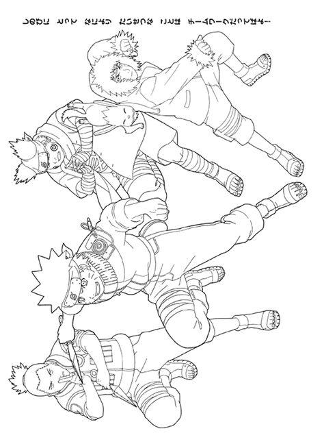 Naruto Coloring Pages Ausmalbilder Malbilder Ausmalen