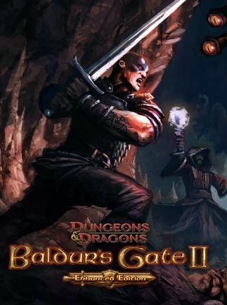 Baldur S Gate Ii Enhanced Edition Classic Video Game Artwork
