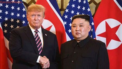 Trump, Kim handshake kicks off nuclear summit in Hanoi
