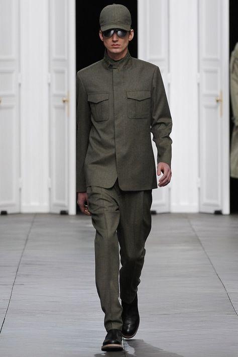 Dior Homme Fall 2012 Menswear Fashion Show
