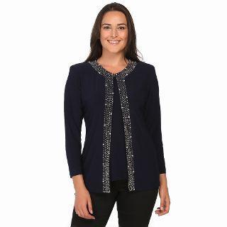 Arikan Concept Buyuk Beden Abiye Ceket Bluz Takim 2381 Lacivert N11 Com 2019 2020 Modasi Bluz Moda Stilleri Elbise Modelleri