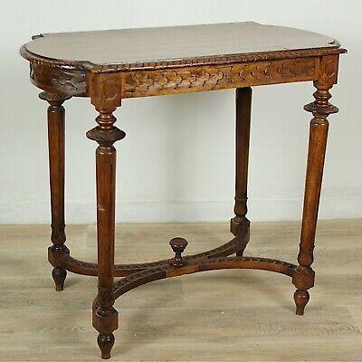 Tavolino Tavolo Antico Da Salotto Soggiorno In Legno Intagliato D Epoca Italiano Tavoli Antichi Legno Intagliato Tavolini Antichi