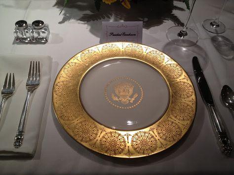 President Eisenhower's White House China