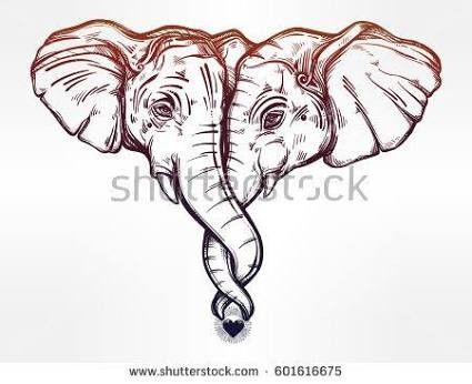 Pin De Val Hume En Tattoos Elefantes Dibujos Tatuajes