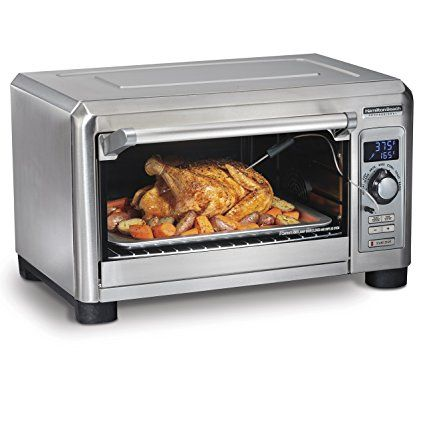 Hamilton Beach 31240 Toaster Countertop Oven Convection Fits 6