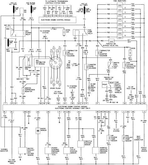87 F250 Wiring Diagram
