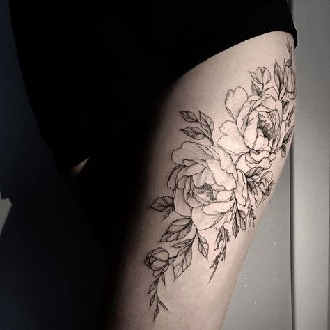 tattooselection #тату #татуцветы #татуировка...
