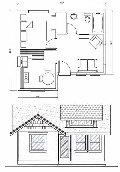 Image Result For Tiny House Floor Plans Under 400 Sq Ft Tiny House Floor Plans Small House Plans Small House Design Plans
