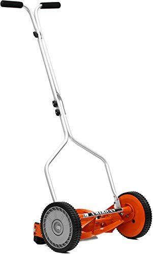 Buy American Lawn Mower Company 1204 14 14 Inch 4 Blade Push Reel Lawn Mower Red Online Tophitsgoods In 2020 Reel Lawn Mower Small Lawn Mower Reel Mower