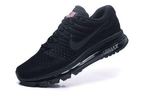 Factory Nike Air Max 2017 Men Mesh All Black Shop Online