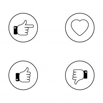 Thumbs Up Thin Line Icons Set Thumbs Up And Thumbs Down Circle Emblems Like And Dislike Icons Set Vector Illustration Like Icons Line Icons Circle Icons Png Icon Set Vector