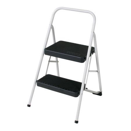 Remarkable 2 Step Metal Fold Step Stool Walmart Com Home Stool Caraccident5 Cool Chair Designs And Ideas Caraccident5Info