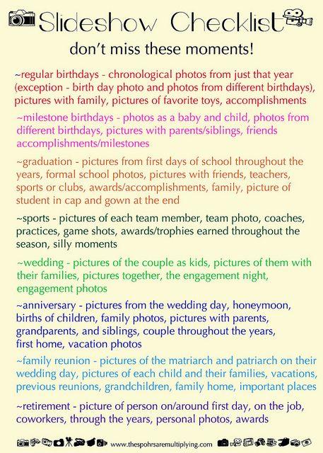 Photography: Creating Slideshows