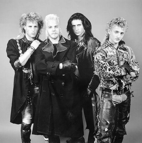 Paul, David, Dwayne, & MarkoThe Lost Boys