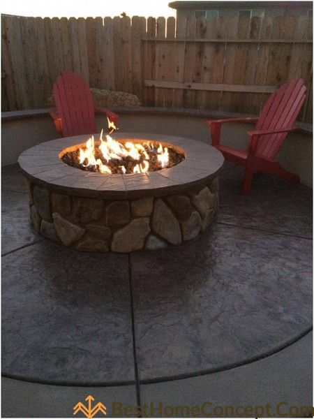 27 Easy To Build Diy Firepit Ideas Improve Your Backyard Gas
