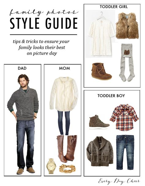 What to wear for family pictures - http://jennycollier.com/?p=10262