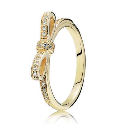 anello con fiocco pandora prezzo