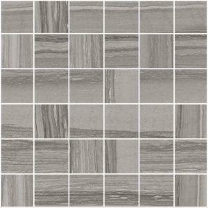 Silver Dark 2x2 Mosaic 12x12 Sheet Natural Stone Tile Natural Stone Tile Stone Tiles Mosaic