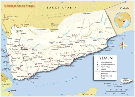 169 best Map of every country in the world images on Pinterest - fresh yemen in world map