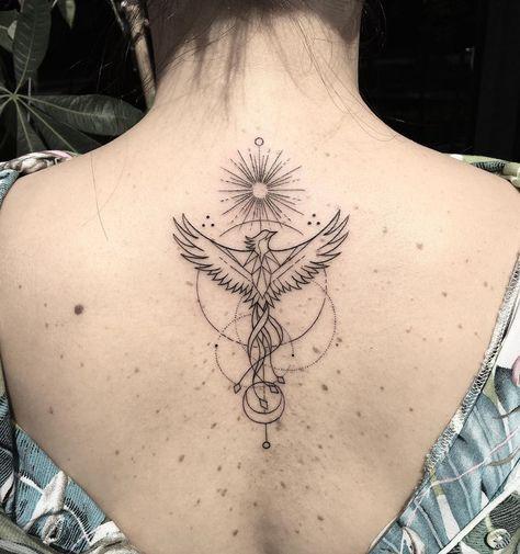 Phoenix Tattoo Feminine, Phoenix Back Tattoo, Tribal Phoenix Tattoo, Phoenix Tattoo Design, Tribal Sleeve Tattoos, Phoenix Tattoo Sleeve, Phoenix Art, Chest Tattoo, Mini Tattoos