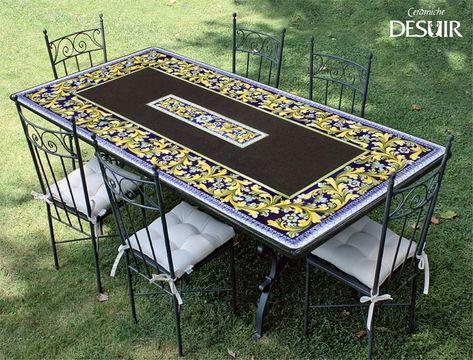 Tavoli Da Giardino Decorati.Scopri L Ampia Scelta Di Tavoli Da Giardino Desuir Lasciati