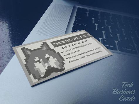 Game Developer Business Card Business Card Design Business Cards Card Design
