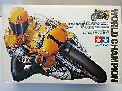 Tamiya 1 12 Scale Yamaha Yzr500 Gp Model Kit With Rider New 1426 K Roberts Ebay In 2021 Tamiya Kenny Roberts Yamaha