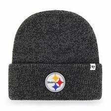 cheap prices high quality sale online Pittsburgh Steelers NFL '47 Brain Freeze Black Knit Winter Hat Cap ...