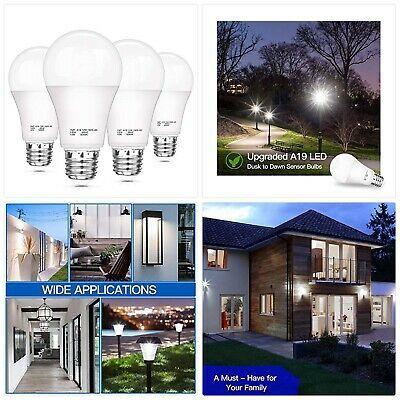 Sponsored Link Dusk To Dawn Light Sensor Bulbs A19 12w 100 Watt Equivalent Led Auto On Off Li In 2020 Lighting And Ceiling Fans Ceiling Fan Light Sensor