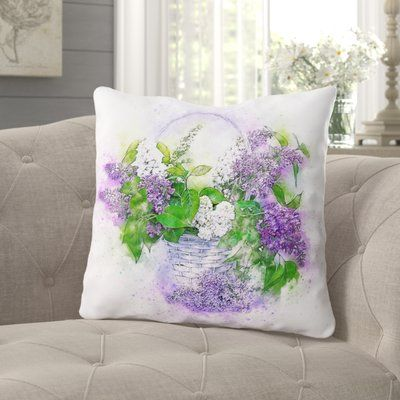 Outdoor Throw Pillow Ophelia